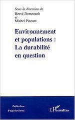 Téléchargez le livre :  Environnement et populations