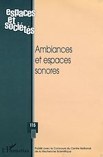 Download this eBook Ambiances et espaces sonores