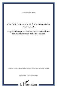 Téléchargez le livre :  L'accès des femmes à l'expression musicale
