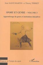 Download this eBook Sport et genre (volume 3)