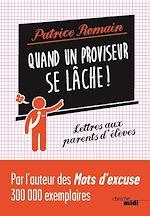 Download this eBook Quand un proviseur se lâche !