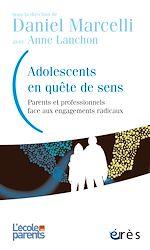 Téléchargez le livre :  Adolescents en quête de sens