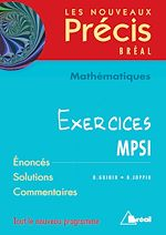 Download this eBook Mathématiques MPSI - Exercices