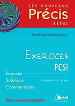 Download this eBook Mathématiques PCSI - Exercices