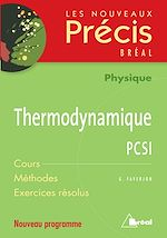 Download this eBook Thermodynamique PCSI
