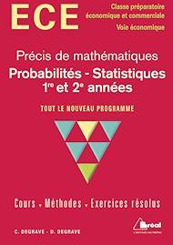 Téléchargez le livre :  Probabilités et statistiques 1re et 2e années - option économique