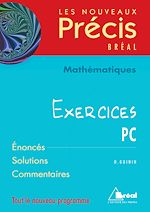 Download this eBook Mathématiques PC - Exercices