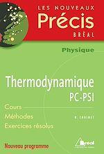 Download this eBook Thermodynamique PC-PSI