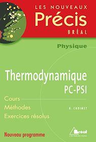 Téléchargez le livre :  Thermodynamique PC-PSI