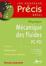 Téléchargez le livre :  Mécanique des fluides PC-PSI
