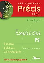 Download this eBook Physique PSI Exercices
