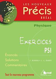 Téléchargez le livre :  Physique PSI Exercices