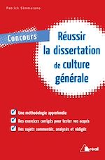 Download this eBook Réussir la dissertation de culture générale