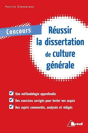 Téléchargez le livre :  Réussir la dissertation de culture générale