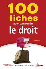 Download this eBook 100 Fiches pour comprendre le droit