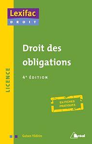 Téléchargez le livre :  Droit des obligations - 4e édition