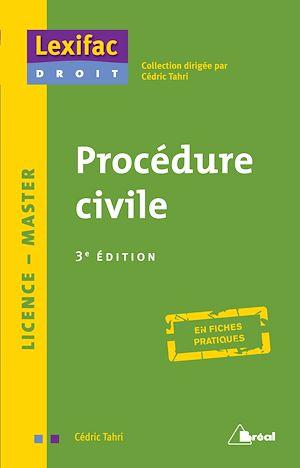 Téléchargez le livre :  Procédure civile - 3e édition
