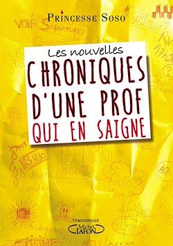 Download the eBook: Les nouvelles chroniques d'une prof qui en saigne