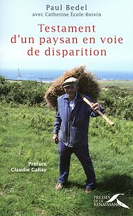 Téléchargez le livre :  Testament d'un paysan en voie de disparition