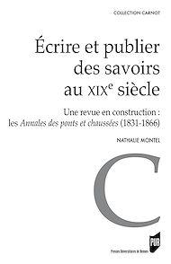 Téléchargez le livre :  Écrire et publier des savoirs au XIXe siècle