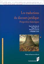 Download this eBook Les traductions du discours juridique