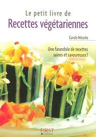 Téléchargez le livre :  Petit livre de - Recettes végétariennes