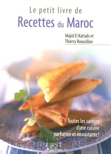 petit livre recettes Maroc Thierry