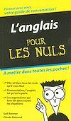 Télécharger le livre :  L'Anglais - Guide de conversation Pour les Nuls