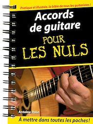 Téléchargez le livre :  Accords de guitare Pour les Nuls