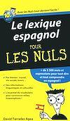 Télécharger le livre :  Le lexique espagnol Pour les Nuls