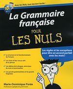 Download this eBook La Grammaire française Pour les Nuls