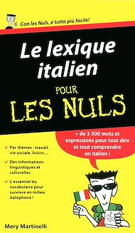 Téléchargez le livre :  Le lexique italien Pour les Nuls