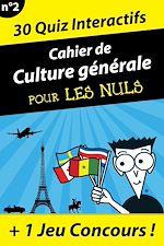 Download this eBook Cahier de culture générale pour les Nuls #3