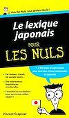Télécharger le livre :  Lexique Japonais Pour les Nuls