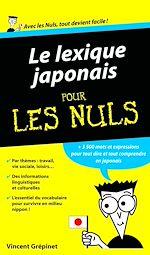 Download this eBook Lexique Japonais Pour les Nuls