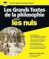 Télécharger le livre :  Les grands textes de la philosophie Pour les Nuls