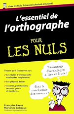 Download this eBook L'essentiel de l'orthographe Pour les Nuls