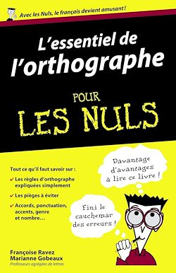 Download the eBook: L'essentiel de l'orthographe Pour les Nuls