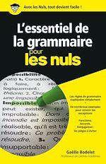 Download this eBook L'essentiel de la grammaire Pour les Nuls