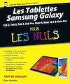 Télécharger le livre :  Tablettes Samsung Galaxy Tab Pour les Nuls, nouvelle édition
