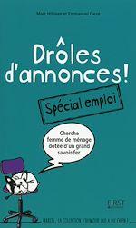 Download this eBook Drôles d'annonces - spécial emploi