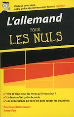 Download this eBook L'allemand - Guide de conversation pour les Nuls, 2ème édition
