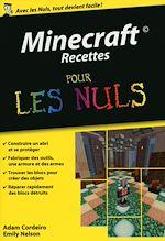 Download this eBook Minecraft Recettes Poche Pour les Nuls