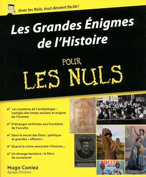 Téléchargez le livre :  Les Grandes Enigmes de l'Histoire pour les Nuls