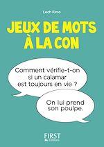 Download this eBook Petit Livre de - Jeux de mots à la con