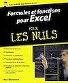 Télécharger le livre :  Formules et fonctions pour Excel 2013 et 2016 pour les Nuls