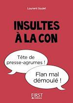 Download this eBook Petit Livre - Insultes à la con