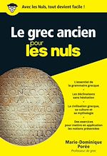 Download this eBook Le grec ancien pour les Nuls poche