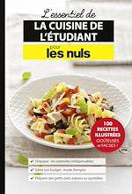 Download this eBook L'essentiel de la cuisine de l'étudiant pour les Nuls