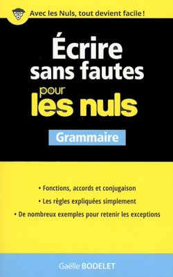 Download the eBook: Ecrire sans fautes pour les Nuls